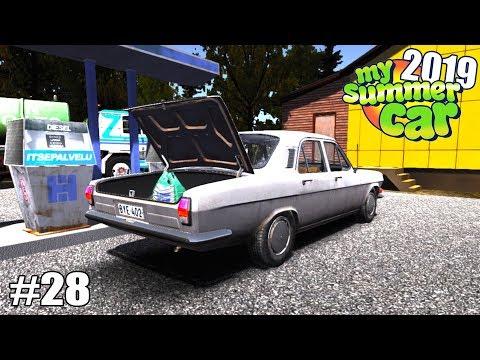 My Summer Car 2019/20 - FUI ÀS COMPRAS COM MEU CARRO NOVO #28