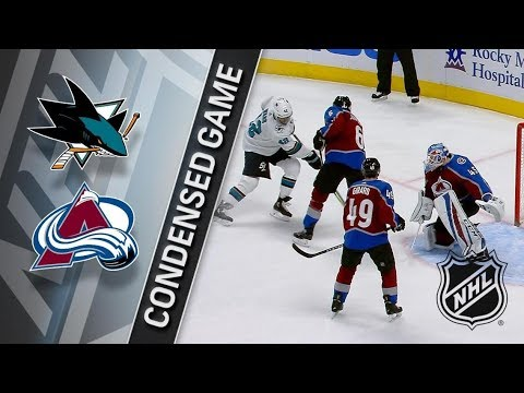 San Jose Sharks vs Colorado Avalanche – Feb. 06, 2018 | Game Highlights | NHL 2017/18. Обзор матча