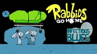 #3 Rabbids Go Home - Infectious Blues - Video Game - kids movie - Gameplay - Videospiel