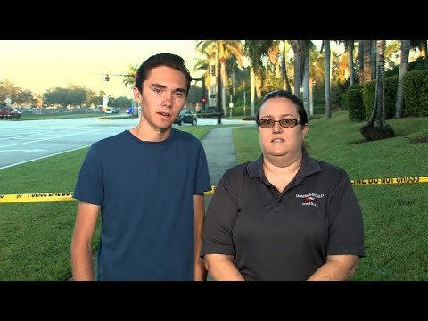 Teacher and student who witnessed Florida school shooting:
