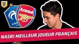 Samir Nasri élu meilleur joueur français de l'année 2010