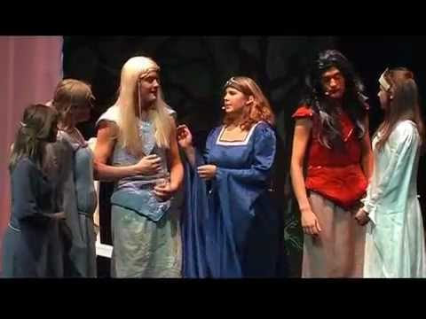 Teatergruppen Klima, Musical Elverkongens Krone - Farvel farvel