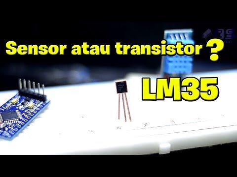 Cara Menggunakan Sensor LM35 Di Arduino Uno - Membaca Suhu LM35