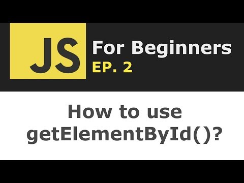 How to use getElementByID in JavaScript? | JS For Beginners Ep. 2 thumbnail