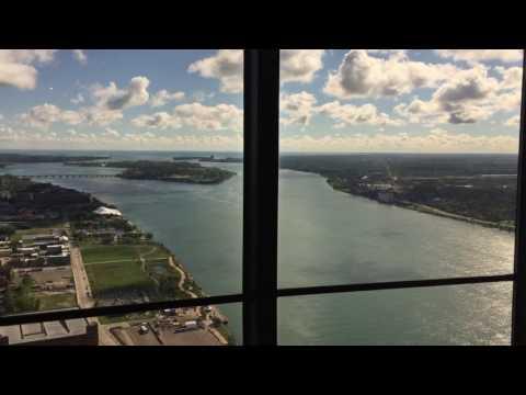 Detroit Marriott Renaissance Center  America's Tallest Hotel  Executive King Suite