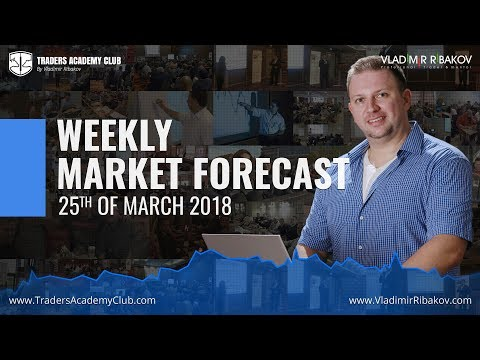 Forex Trading Weekly Review 25 To 30th Of March 2018 - By Vladimir Ribakov
