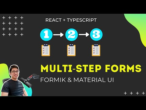 Formik Multi-Step Form with Material UI | React JS Forms Tutorial