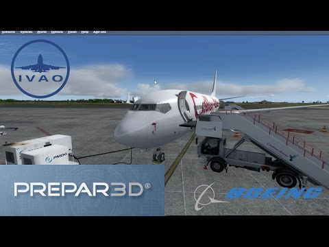 [Prepar3D] Piarco- Port of Spain ✈ Princess Juliana Intl. | PMDG 737-800 | IVAO