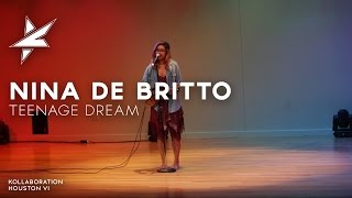 Katy Perry - Teenage Dream cover by Nina De Britto at KH6