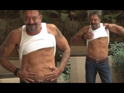 Sanju Baba Flaunts '6-pack' After Coming Out on Furlough   Bolly2box