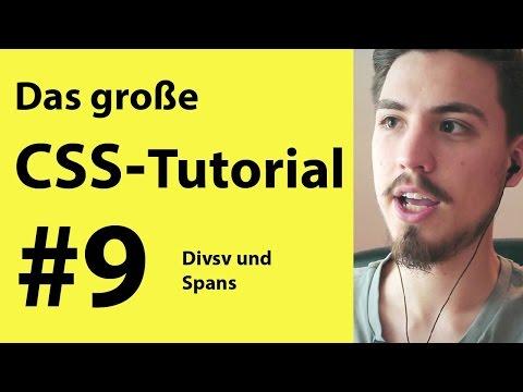 Div Und Span In CSS - HTML Tutorial | CSS Lernen Für Anfänger
