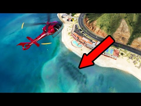 GTA 5 - SEA MONSTER?? (GTA 5 Loch Ness Monster)