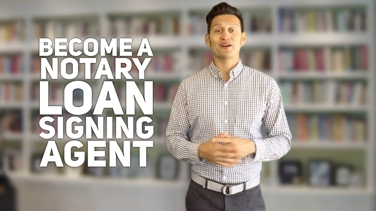 Become a Notary Loan Signing Agent: Here's What You'll Learn with the Loan Signing System - YouTube