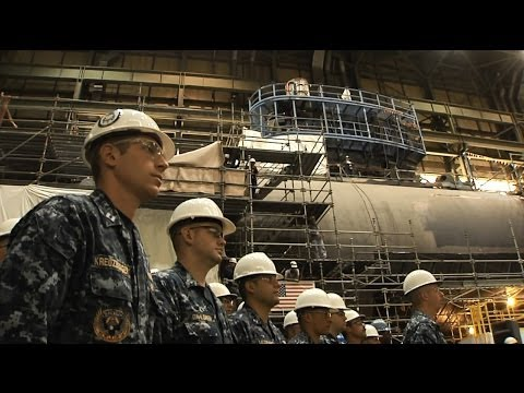 John Warner (SSN 785) Pressure Hull Complete