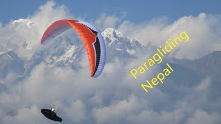 Flying in the Himalaya of Nepal