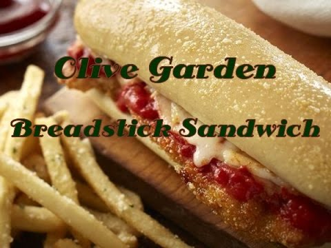 Olive Garden Meatball Breadstick Sandwich Review Youtube