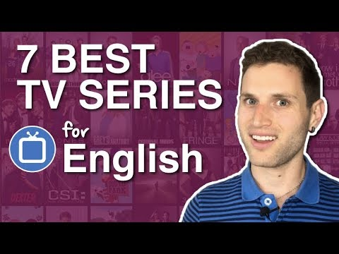 The 7 BEST TV Series To Learn English