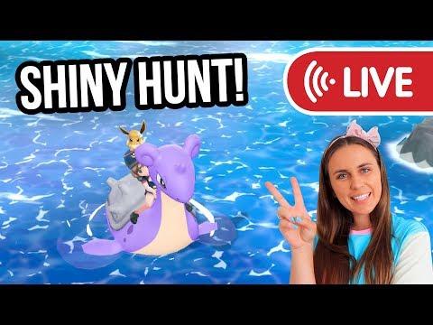 LAPRAS SHINY HUNT Pokémon Let's Go Eevee