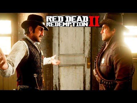 ТЕПЕРЬ Я ПОМОЩНИК ШЕРИФА - RED DEAD REDEMPTION 2 Прохождение #17