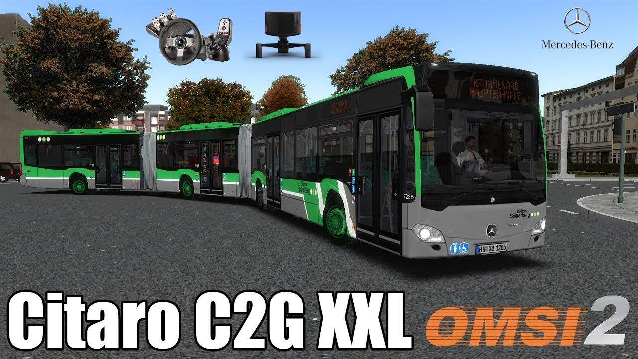Omsi 2 Mercedes Benz Citaro C2g Xxl Youtube