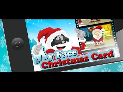 Face In Hole App My Face Christmas Card Iphone App Review Youtube