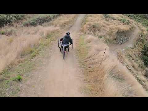 Explorer off-road handcycle
