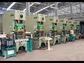 automatic cnc pressing line for car parts , Number control press hole machine