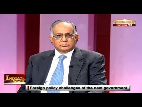 India's World - Foreign policy challenges of the next government