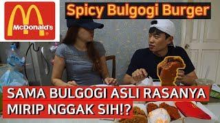 Download Video BULGOGI BURGER MCDONALD SAMA BULGOGI DI KOREA MIRIP GAK SIH!? MP3 3GP MP4