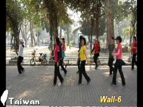 Let Your Love Flow - Line Dance ( Nina Chen)