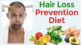 Hair Loss prevention diet:  Avoid saturated fats