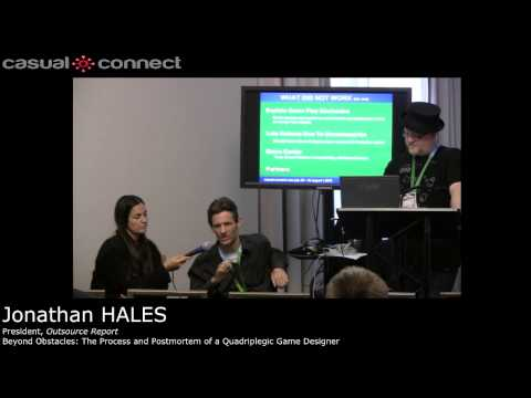 Beyond Obstacles: The Process and Postmortem of a Quadriplegic Game Designer | Jonathan HALES