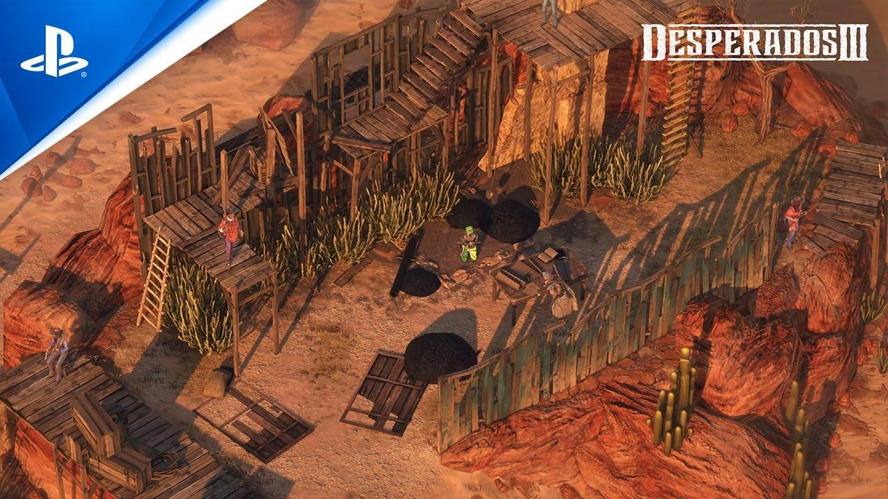 Download Desperados III - Money for the Vultures Part 3 Trailer   PS4