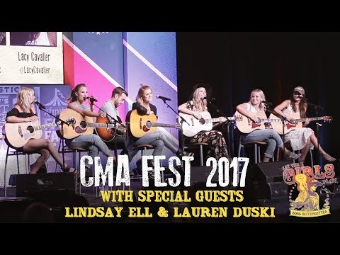 Song Suffragettes - CMA Fest 2017 with special guests Lindsay Ell & Lauren Duski - Day 2