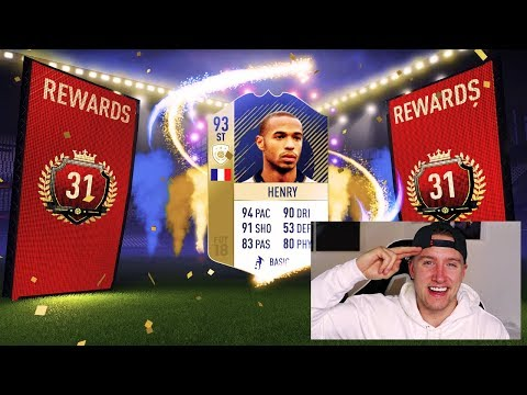 PRIME HENRY 😱 + 31st IN THE WORLD FUT CHAMPIONS REWARDS!! - FIFA 18 Ultimate Team