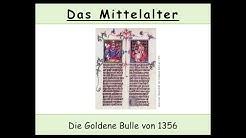 Die Goldene Bulle von 1356 erklärt