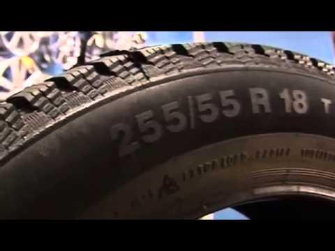 Что означает маркировка шин?