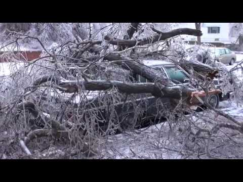 Dodge City, Kansas Ice Storm - January 16th, 2017