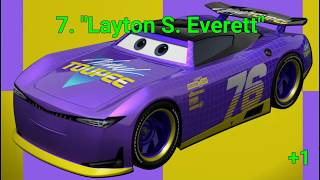 All Cars 3 Next-Gen Racers Ranked Worst to Best in my Opinion (Revision 3)