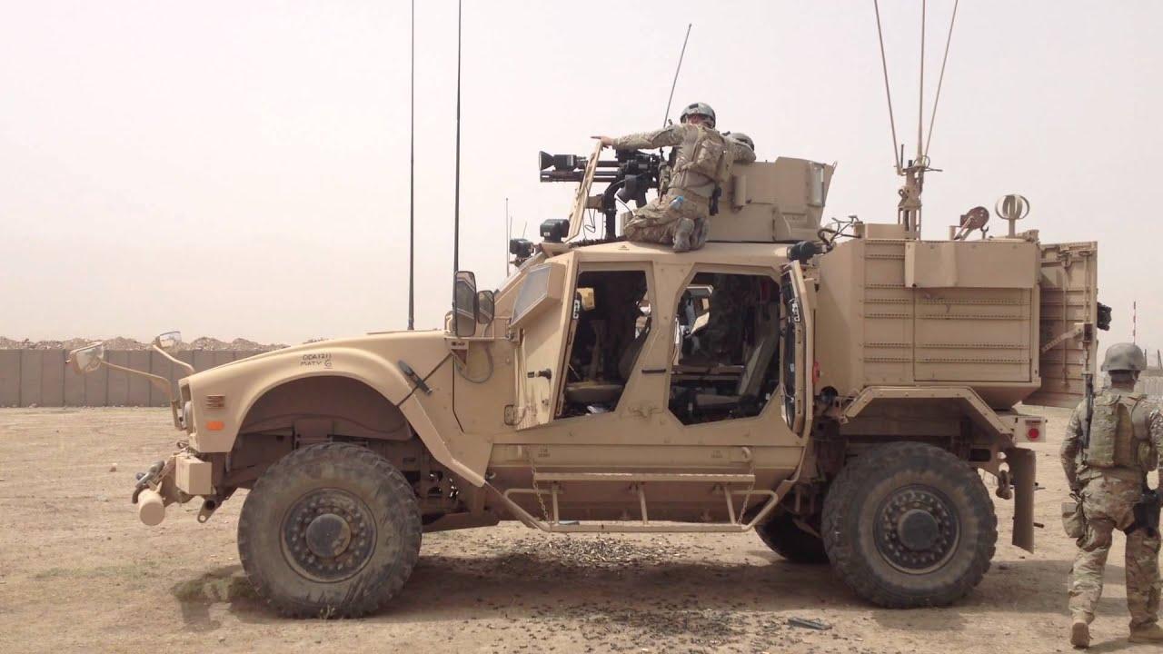 Mk 44 Mini Gun Fam Firing Northern Afghanistan Youtube