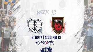 USL LIVE - Swope Park Rangers vs Phoenix Rising FC 6/18/17 thumbnail