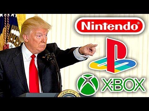 Trump risque de faire exploser le prix des consoles ! PlayStation, Xbox et Nintendo réagissent 🔥