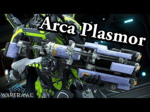 Warframe   Arca Plasmor (5 Forma Build)