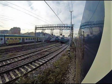 Palermo - Milano C.le viaggio completo in treno ICN 1964