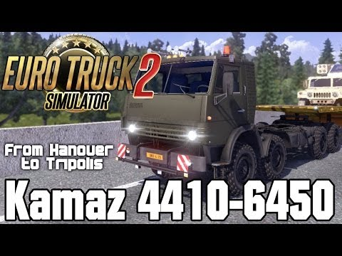 Kamaz 4410 6450 from Hanover to Tripolis | Euro Truck Simulator 2 - ETS2