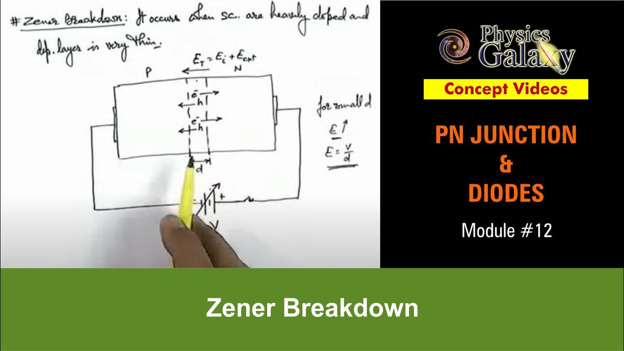 12 class 12 physics lectures pn junction sem diodes zener class 12 physics lectures pn junction sem diodes zener breakdown by ashish arora youtube ccuart Choice Image