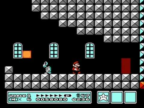 super mario bros 3 1st castle