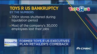 Fmr. Toys R Us executives plan the iconic store's comeback