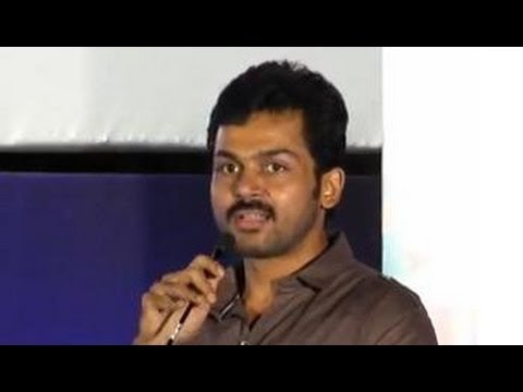 Karthi's funny speech at All in All Azhagu Raja Audio Launch | Kajal Aggarwal | Tamil Movie