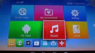 EM6Q-MXQ Cuadro de TV Android Interfaz de a Pie-a través de, XBMC, H. 265 de Reproducción de Vídeo